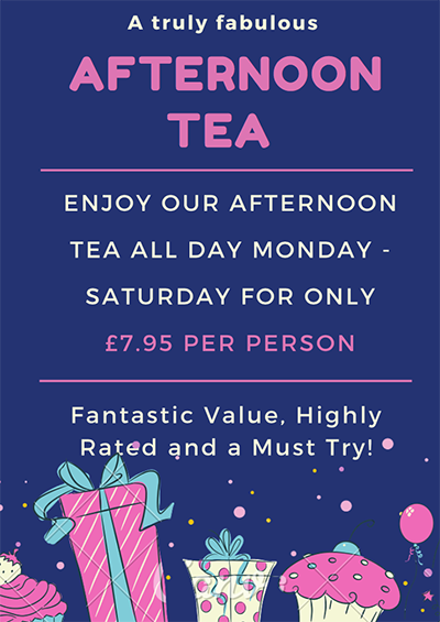 Our Great Value Afternoon Tea